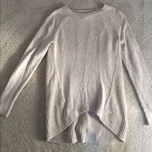 Ann Taylor Loft cream sweater